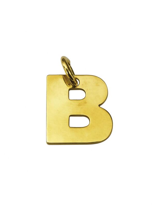 LETTERA B GOLD