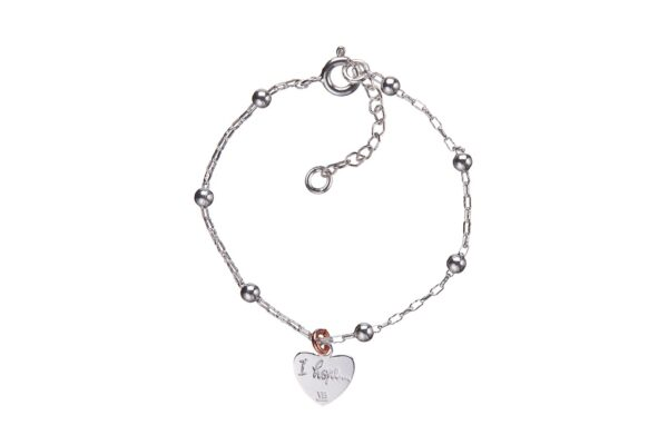 BRACCIALE BABY HOPE CUORE