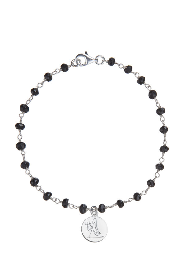BRACCIALE ROSARIO ONICE LITTLE ANGEL