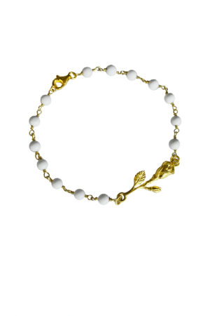 BRACCIALE ROSE AGATA GOLD