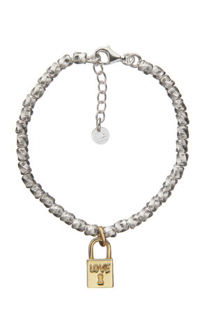 BRACCIALE LOCK AND LOVE