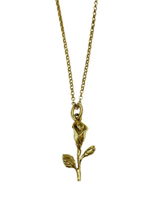 COLLANA TI REGALERO' UNA ROSA GOLD