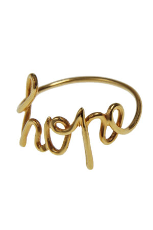 ANELLO HOPE CALLIGRAPHY