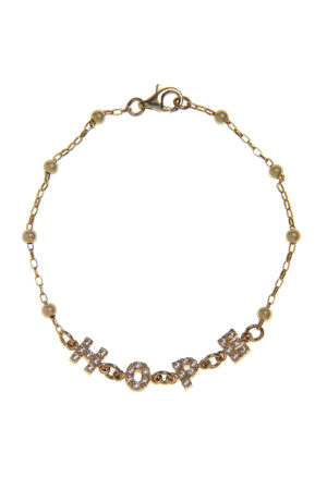 BRACCIALE HOPE GOLD