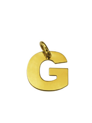 LETTERA G GOLD