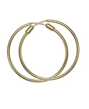 ORECCHINI CERCHIO BASE GOLD