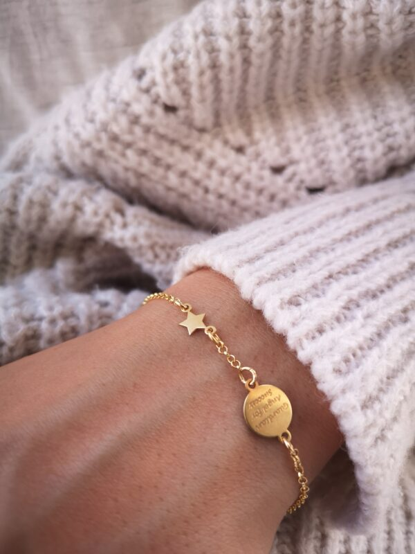 BRACCIALE MINI ANGEL GOLD