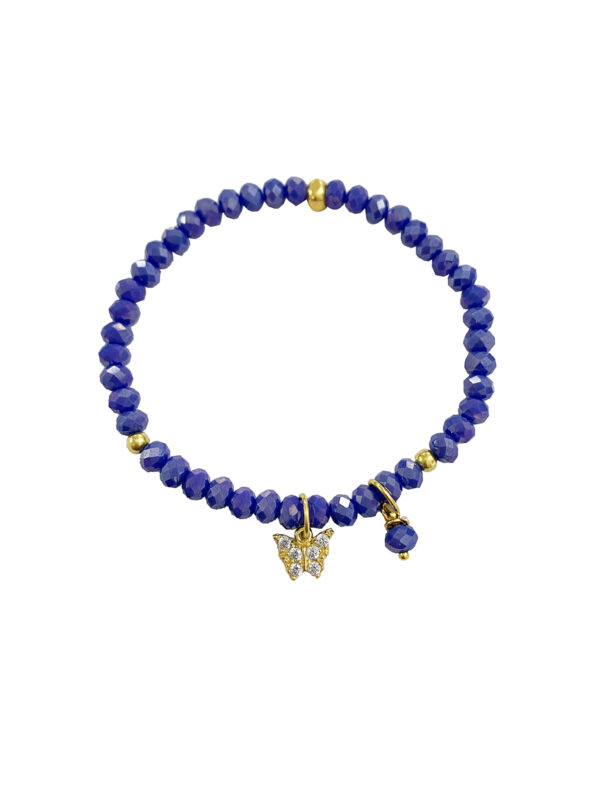 BRACCIALE LITTLE BUTTERFLY BLUE