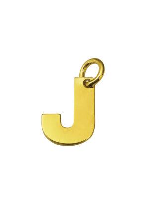LETTERA J GOLD