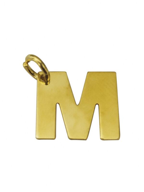 LETTERA M GOLD