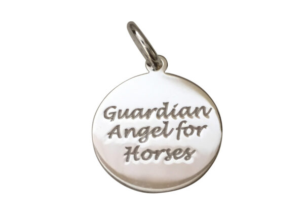 MEDAGLIETTA ANIMÒ GUARDIAN ANGEL FOR HORSES