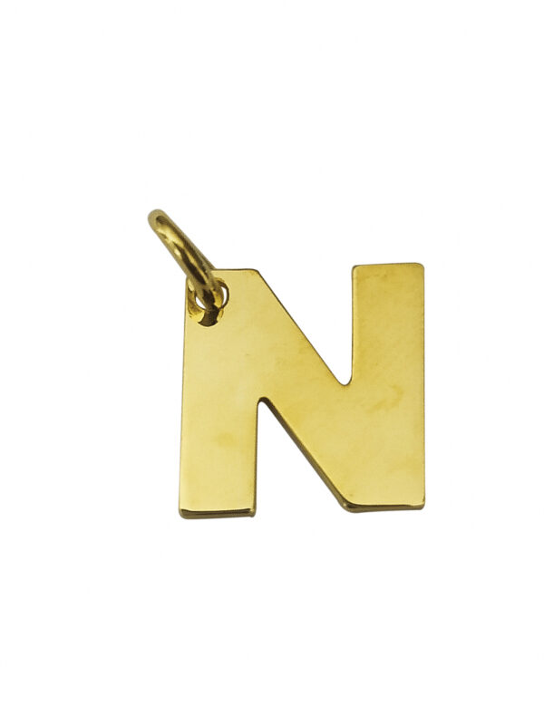 LETTERA N GOLD