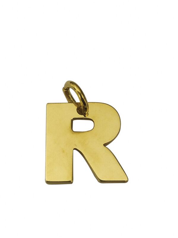 LETTERA R GOLD