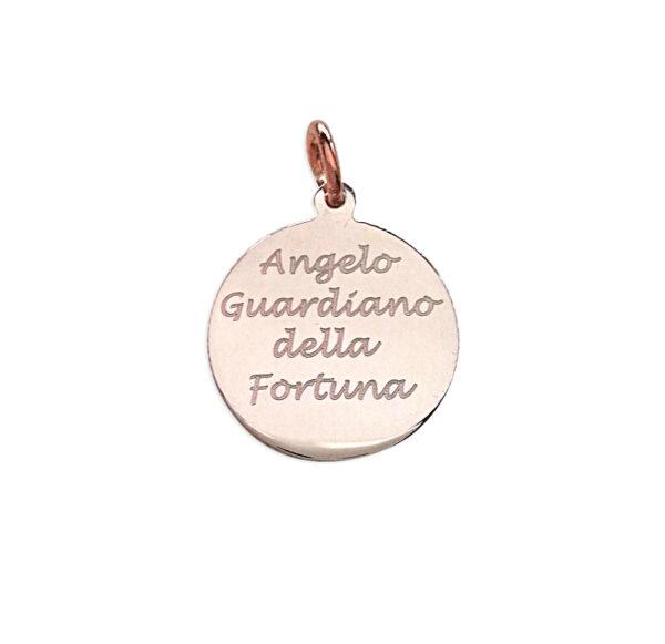 MEDAGLIETTA ANGELO GUARDIANO DELLA FORTUNA