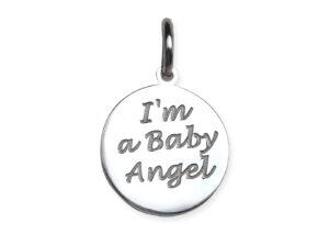 "Medaglietta ""I'm a Baby Angel"""