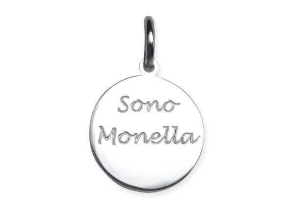 """Medaglietta """"Sono Monella"""""""