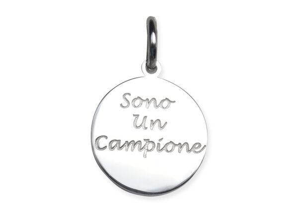 """Medaglietta """"Sono un Campione"""""""