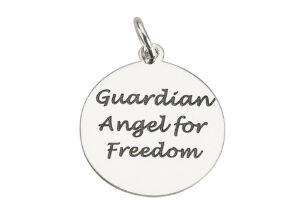 Medaglietta Angelo Guardiano della Libertà